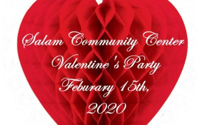 Valentine's Party February 15th, 2020